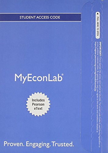 9780133456431: NEW MyEconLab with Pearson eText -- Access Card -- for Microeconomics