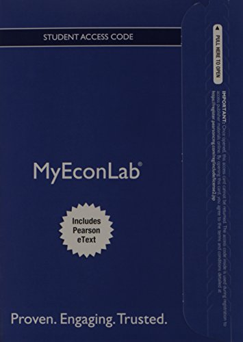 NEW MyEconLab with Pearson eText - Access: Hubbard, R. Glenn;
