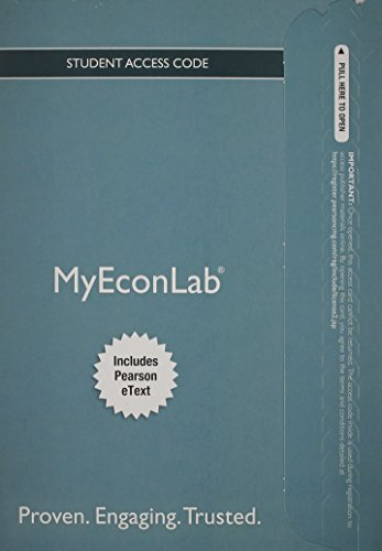 9780133456646: New MyEconLab with Pearson eText--Access Card-- for Economics