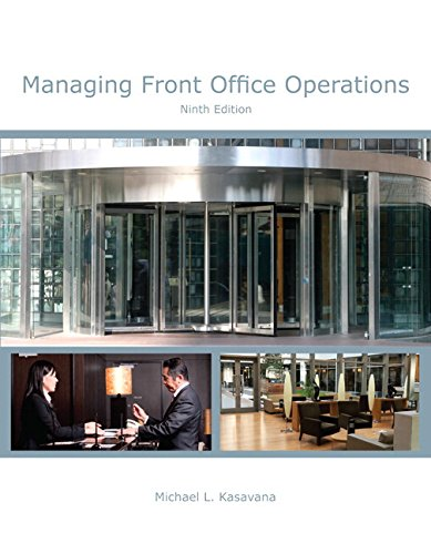 9780133457704: Managing Front Office Operations with Answer Sheet (AHLEI) & Managing Front Office Operations Online Component (AHLEI) -- Access Card Package (9th Edition) (AHLEI - Front Office Operations)