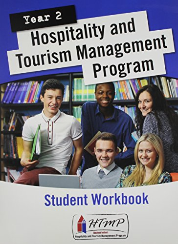 9780133458541: Student Workbook with Scantron for Hospitality & Tourism Management Program (HTMP) Year 2