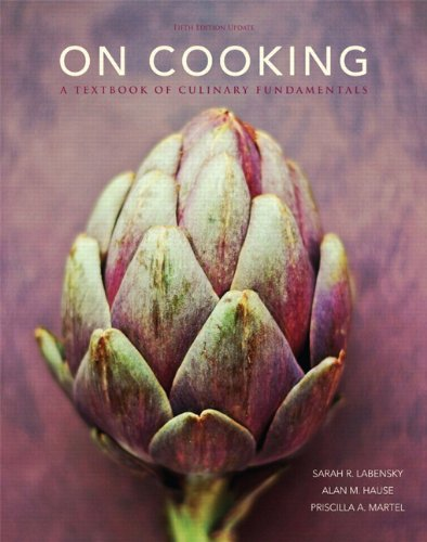 9780133458558: On Cooking: A Textbook of Culinary Fundamentals, 5th Edition