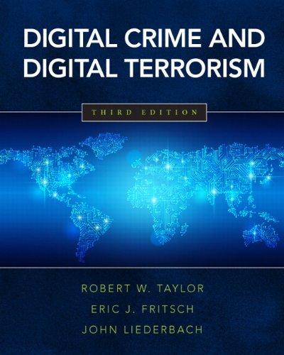 9780133458909: Digital Crime and Digital Terrorism (3rd Edition)
