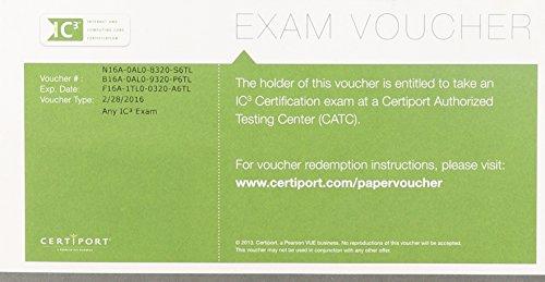 IC3 Exam Voucher With Retake: Certiport