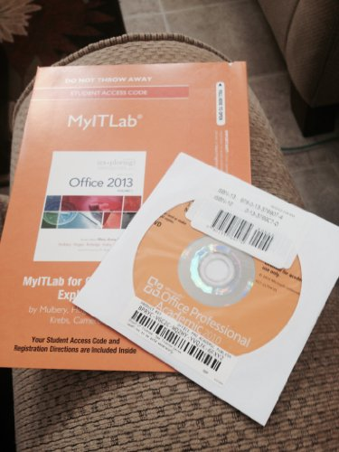 9780133460551: Exploring Microsoft Office 2013 MyITLab Access Code: Includes Pearson Etext