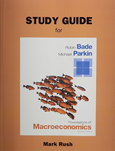9780133460704: Study Guide for Foundations of Macroeconomics