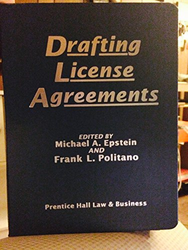 9780133465785: Drafting License Agreements