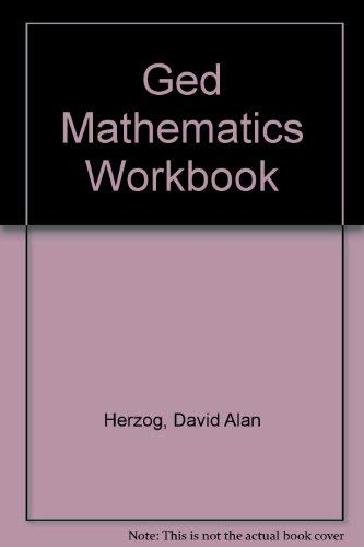 9780133471700: Arco Ged Mathematics Workbook (Arco Master the GED Mathematics)