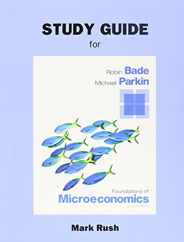 9780133477153: Study Guide for Foundations of Microeconomics