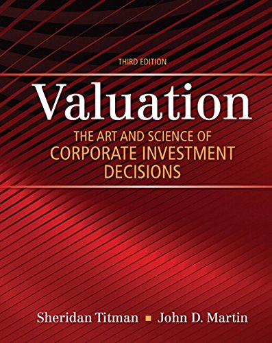 9780133479522: Valuation: The Art and Science of Corporate Investment Decisions
