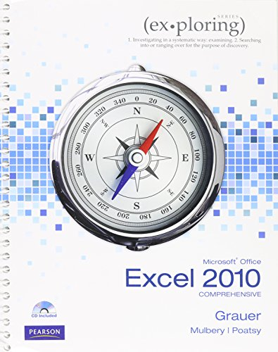 9780133480924: Exploring Microsoft Office Excel 2010 Comprehensive, myitlab, and Microsoft Office 2010 180-Day Trial