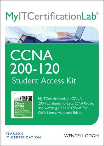 9780133481259: Cisco CCNA Routing and Switching 200-120, MyITCertificationLab - Access Card