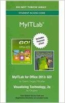 9780133482089: MyITLab without Pearson eText -- Access Card -- for GO! with Visualizing Technology