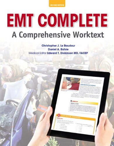 9780133482621: EMT Complete: A Comprehensive Worktext Plus NEW MyBradyLab with Pearson eText--Access Card Package (2nd Edition)