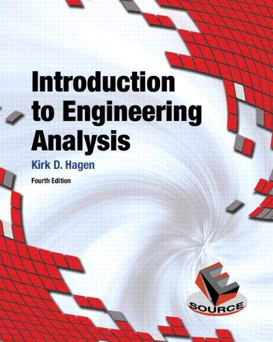 9780133485080: Introduction to Engineering Analysis (4th Edition)