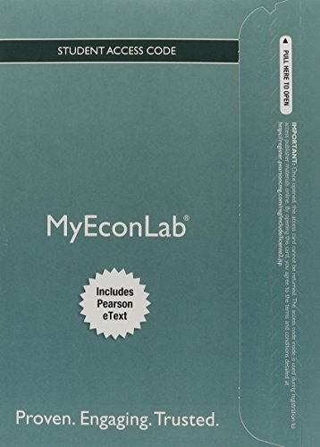 9780133485608: NEW MyEconLab with Pearson eText -- Access Card -- for Foundations of Economics