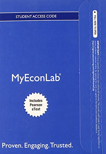 9780133485684: NEW MyLab Economics with Pearson eText -- Access Card -- for Foundations of Microeconomics