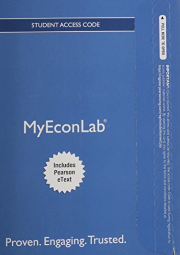 9780133485806: NEW MyEconLab with Pearson eText -- Access Card -- for Essential Foundations of Economics