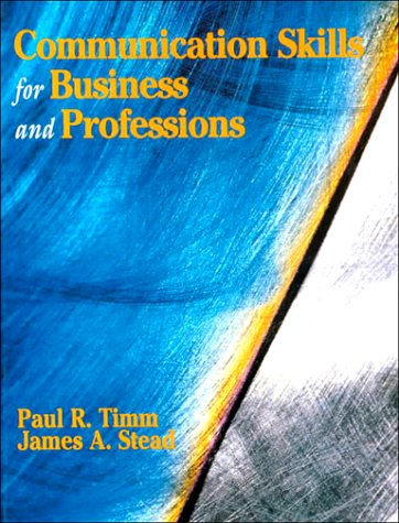 9780133486087: Communication Skills for Business and Professions