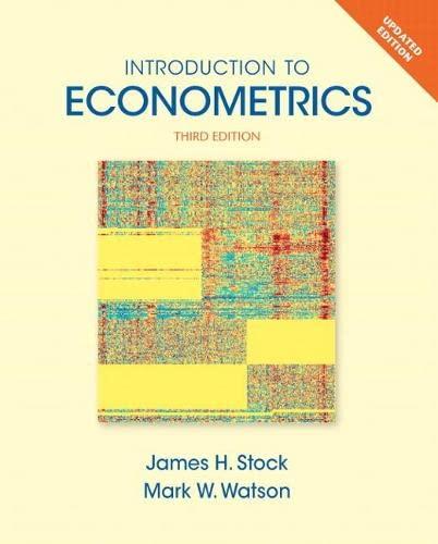 9780133486872: Introduction to Econometrics, Update (Pearson Series in Economics)