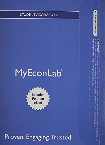 9780133487671: NEW MyLab Economics with Pearson eText -- Access Card -- for Introduction to Econometrics