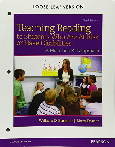 9780133488470: Reading Instruction for Students Who Are at Risk or Have Disabilities