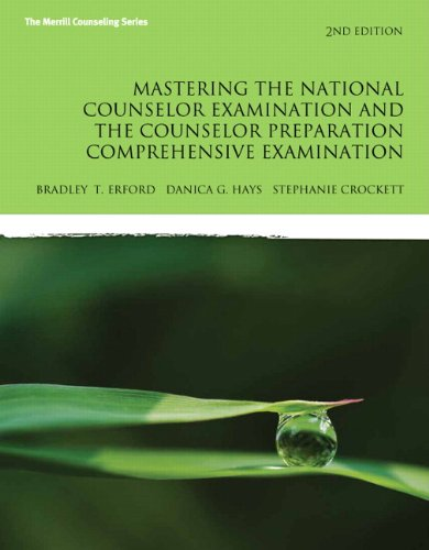 9780133488821: Erford: Mast Nati Coun Exam Coun P_2 (2nd Edition)