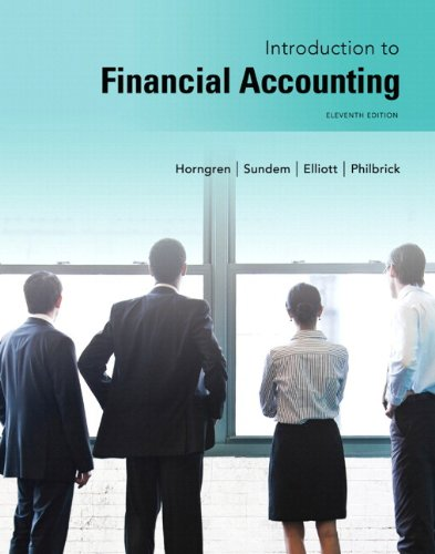 9780133489361: Introduction to Financial Accounting Plus NEW MyAccountingLab with Pearson eText -- Access Card Package (11th Edition)