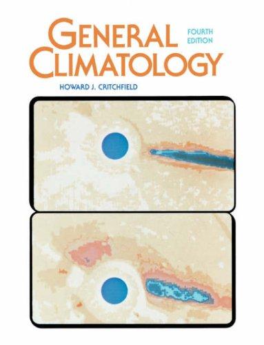 General Climatology: Howard J. Critchfield