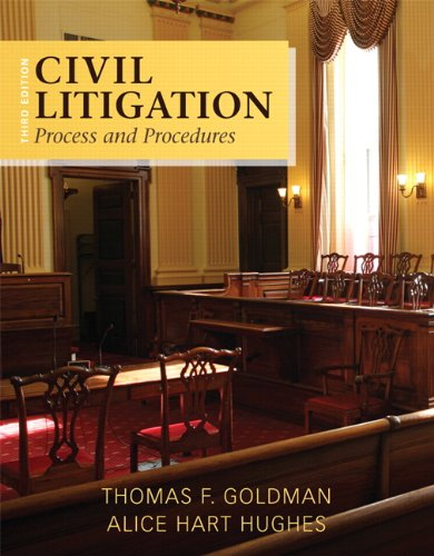 9780133493863: Civil Litigation: Process and Procedures