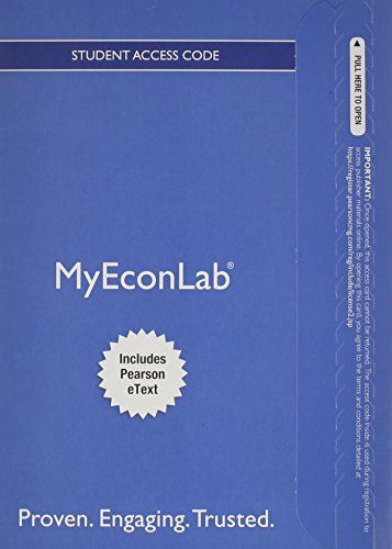 9780133498943: NEW MyEconLab with Pearson eText -- Access Card -- for Microeconomics