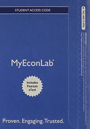 9780133498998: NEW MyEconLab with Pearson eText -- Access Card -- for Macroeconomics