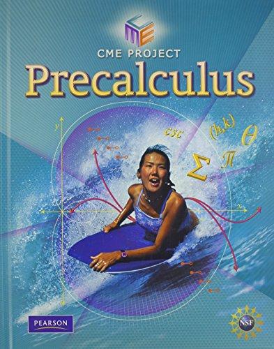 9780133500202: CENTER FOR MATHEMATICS EDUCATION PRECALCULUS STUDENT EDITION 2009C