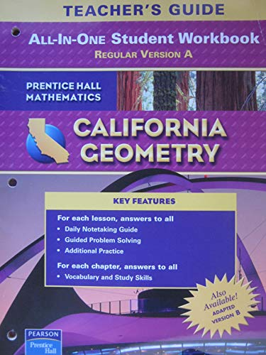 9780133501230: Geometry All-in-One Student Workbook, Teacher's Guide