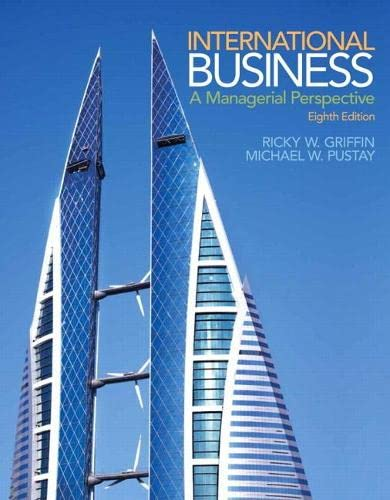 9780133506297: International Business: A Managerial Perspective