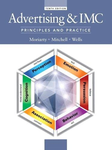 9780133506884: Advertising & IMC: Principles and Practice, 10th Edition