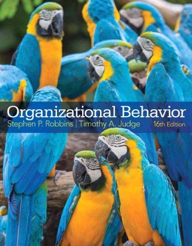 9780133507645: Organizational Behavior (16th Edition)