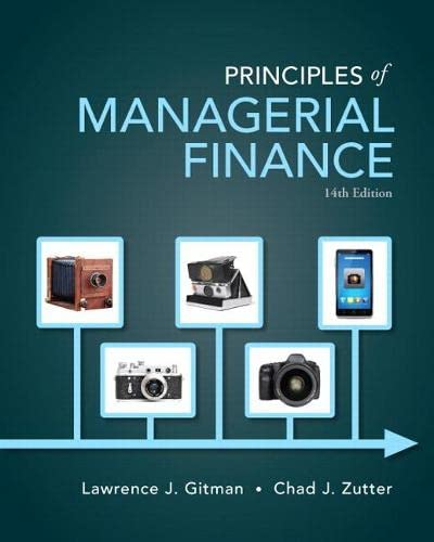 9780133507690: Principles of Managerial Finance (Pearson Series in Finance)