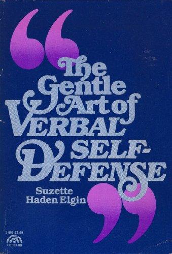 9780133510805: The Gentle Art of Verbal Self Defense