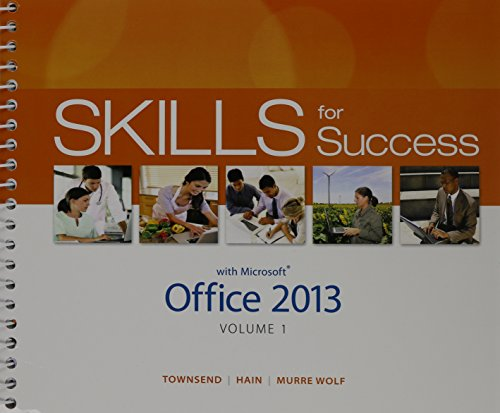9780133510874: Technology In Action, Complete & Skills for Success with Office 2013 Volume 1 Package