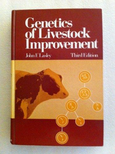 9780133511062: Genetics of Livestock Improvement