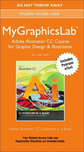 9780133511499: MyGraphicsLab Adobe Illustrator CC Course Access Card