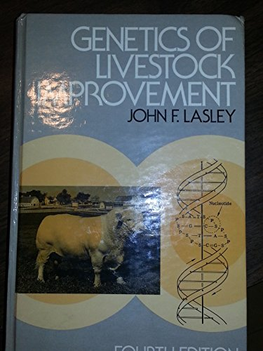 9780133512069: Genetics of Livestock Improvement