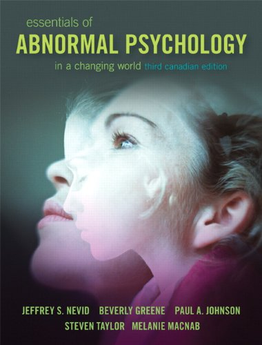 9780133514186: Essentials of Abnormal Psychology, Third Canadian Edition with NEW MySearchLab and Introduction to the DSM-5 (3rd Edition)