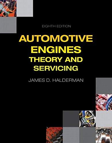 Automotive Engines: Theory and Servicing (8th Edition): Halderman, James D.