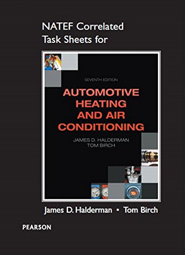 9780133515350: NATEF Correlated Task Sheets for Automotive Heating and Air Conditioning