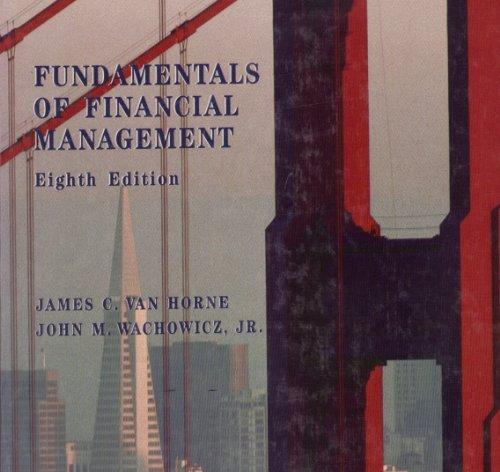 Fundamentals of Financial Management: Horne, James C.Van
