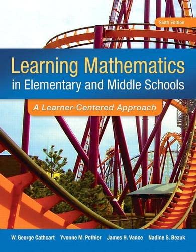 9780133519211: Learning Mathematics in Elementary and Middle School: A Learner-Centered Approach