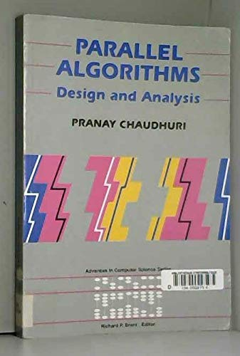9780133519822: Parallel Algorithms: Design and Analysis (Prentice Hall Advances in Computer Science Series)