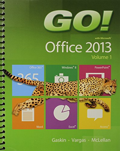 9780133520439: GO! with Office 2013 Volume 1, Office 365 Home Premium Academic -- 180-Day Trial Access Card, and NEW MyITLab with Pearson eText